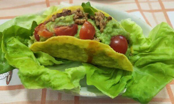 Tacos messicani ripieni